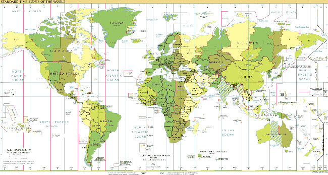 Matchc time zone country and region maps time zone map gumiabroncs Choice Image